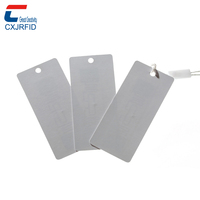 custom printable apparel clothing hang type uhf rfid clothing labels tags for garment tracking
