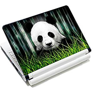 "Universal Size Laptop Notbook Decal Skin Sticker Protector Laptop Skin For 11.6"" 12"" 12.1"" 12.2"" 12.5"" 13.3"" 14"" 15"" 15.4"" 15.6"" inch Apple Mac Pro MacAir HP Asus Aser Toshiba Dell Sony Lenovo,Includes 2 Wrist Pads, Panda"