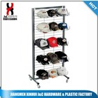 Flooring Metal Hat/cap display stand for store or supermarket
