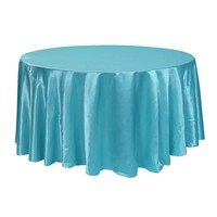 108 inch round satin table linens wedding satin table cover