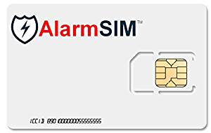 AlarmSIM Card PREPAID SIM CARD for Home Security Alarm Systems - BRAND NEW NETWORK! FASTEST SMS ALERTS!
