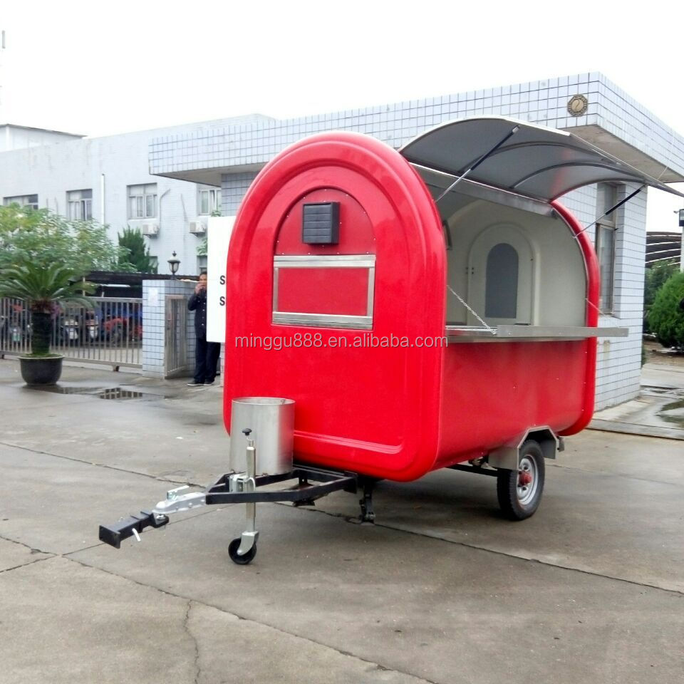 Mobile Food Cart / Street Hot Dog Food Vending Cart With Big Wheels / Hot  Dog Cart (ce Approval,Manufacturer) - Buy Mobile Food Cart With Wheels,Hot