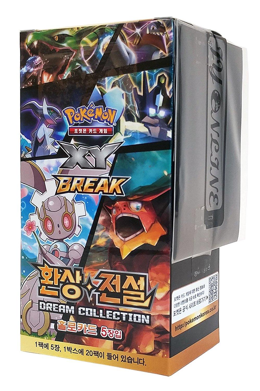 Pokemon Card Game XY BREAK Fantasy Legendary Dream Collection CP5 Korean