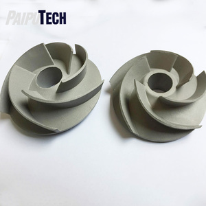 Precision Casting / Investment Casting Flexible Impeller Pump, Lost Wax Casting Stainless Steel Pump Impeller