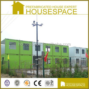 Polyurethene Panel Green Solid Used Conex Container NJ for Hotel