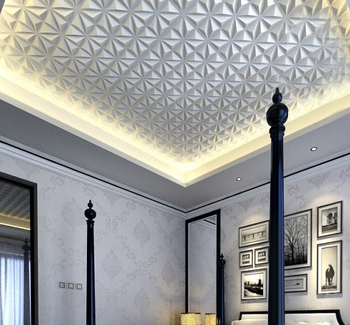 Modern Wall Panels Interior Ceiling Tiles Fireproof 3d Wall Panel For  Bedroom Decoration - Buy Wall Panels Interior,Ceiling Tiles,Fireproof 3d  Wall ...