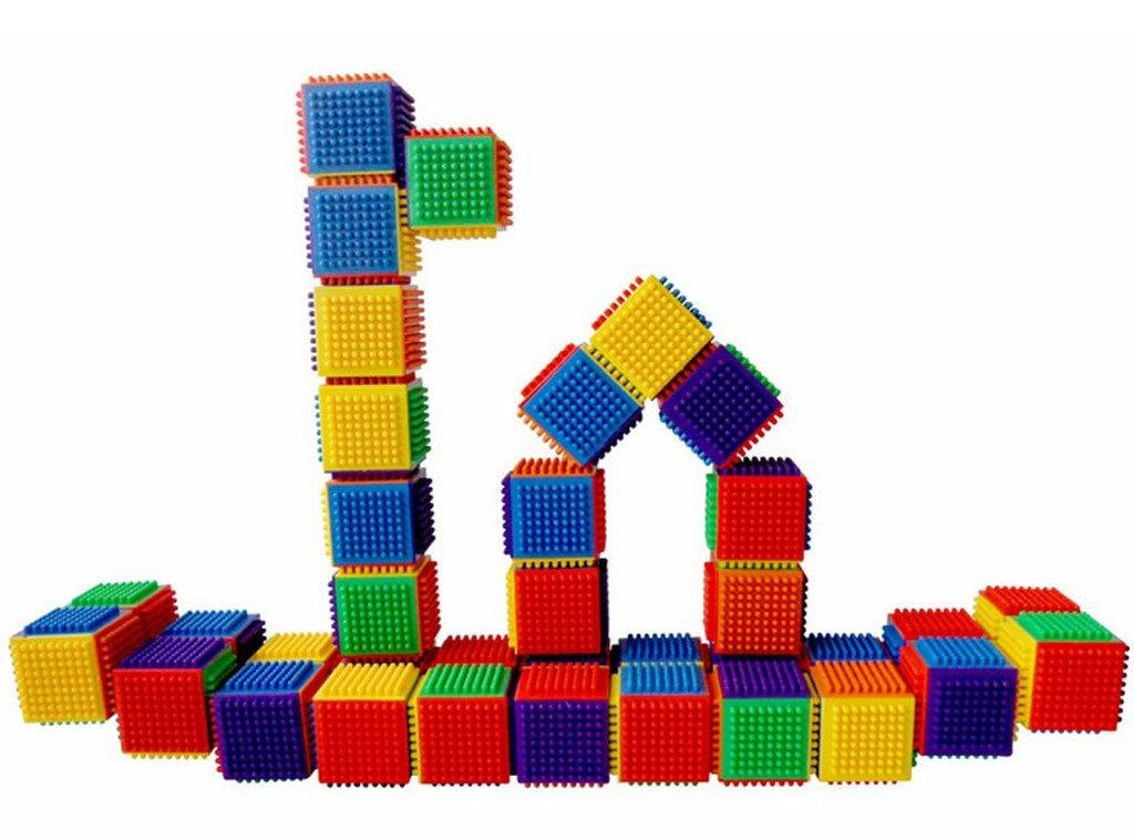 Buy S13482 JingQ JQ1049 Plastic Tooth Cube Blocks Construction ...