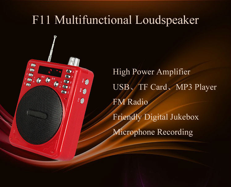 New gadgets 2014 Red Loudspeaker Laptop Speaker Mini Audio Class D Digital Amplifier Portable