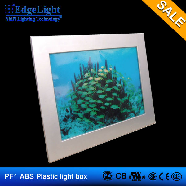 Edgelight picture frames advertising light box distributors wanted