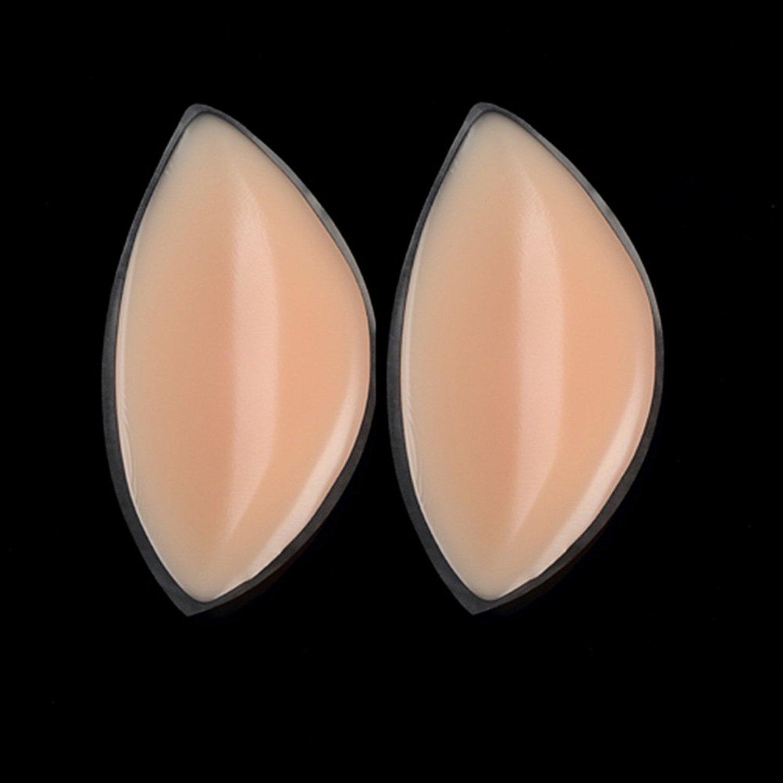 5a4fa93c25374 BESTOYARD Silicone Bra Inserts Bra Inserts Silicone Breast Enhancer Shaper  Push Up Bra Pads (Nude