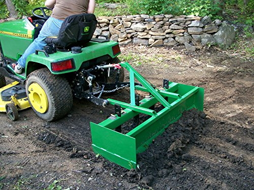 Get Quotations · 3pt Box Blade Plans DIY Garden Box Scraper Tractor Attachment Build Your Own