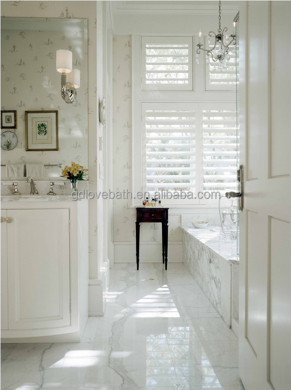 Italian Natural Carrara White Marble Tiles And Slabs For House ...