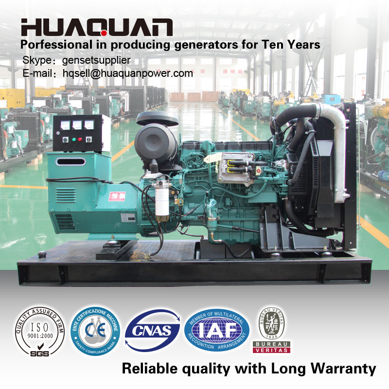 High quality !400kva volvo diesel generator for hot sale
