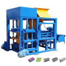 Hydraulic press high density building cement block making machine manufacturer