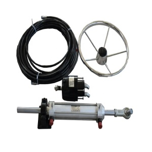 customized marine hydraulic boats control system parts of ship steering wheel for sale