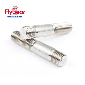 studs double steel ss stud alloy stainless end carbon supplier exporter threaded
