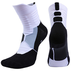 Hot Sale On Amazon Unisex Sports Socks Basketball Socks