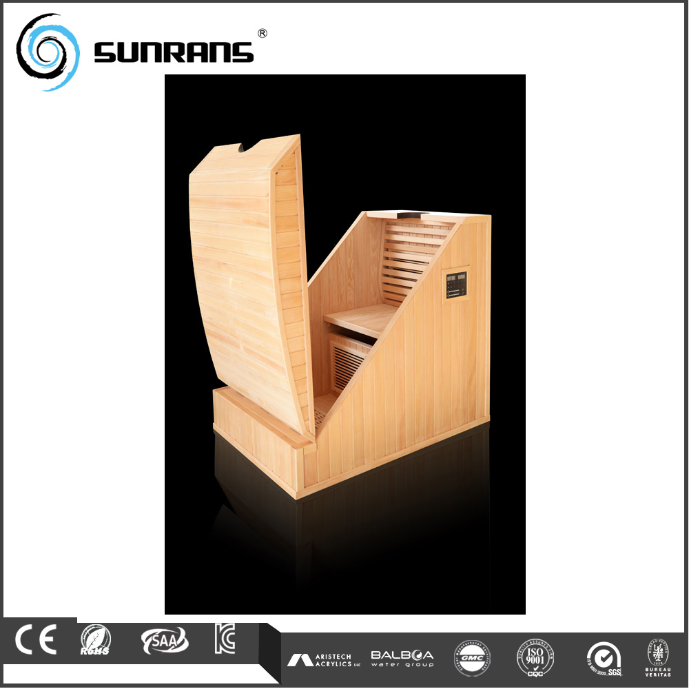 Hot sale deluxe portable steam sauna cabinet for 1 person sauna
