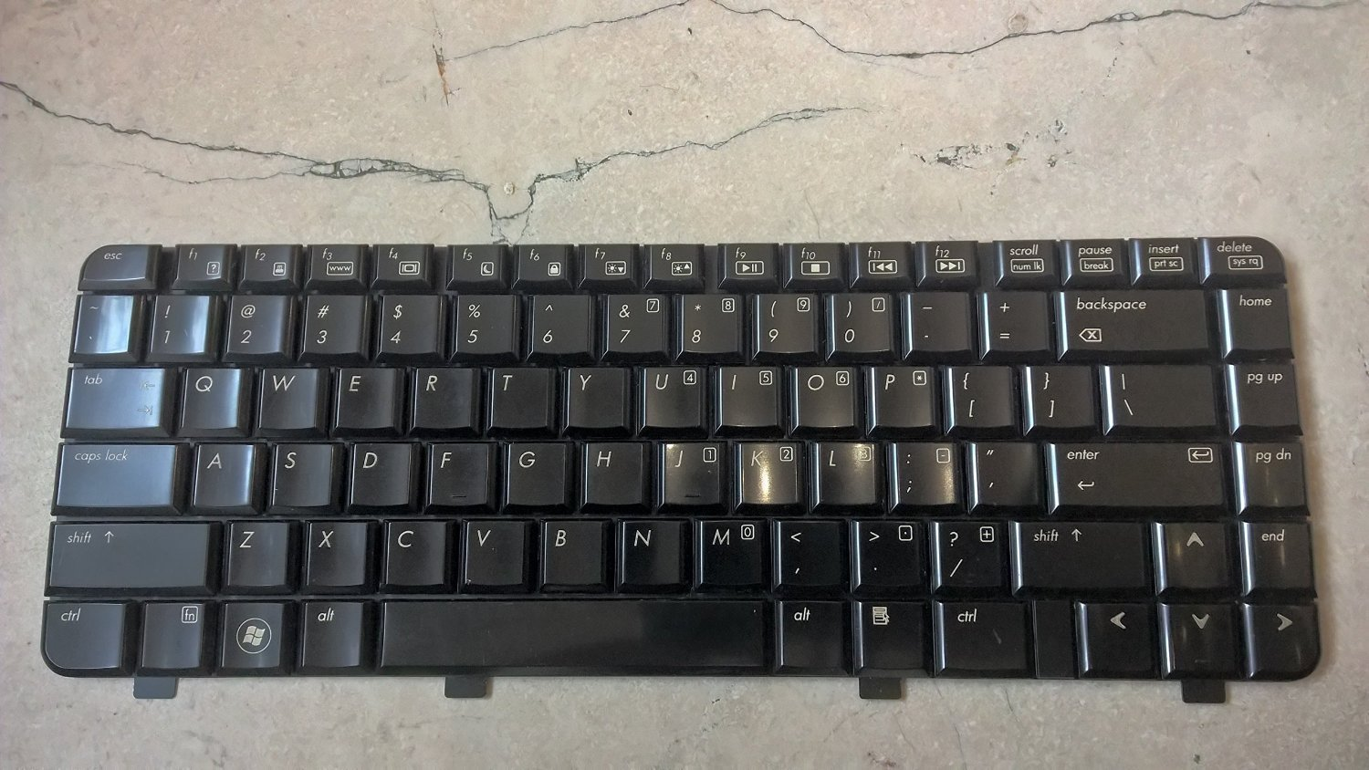 Generic Keyboard For HP Pavilion DV4 DV4-1000 DV4-1100 DV4-1200 DV4-1300 DV4-1400 NSK-HFB01 9J.N2G82.B01 PK1303VAB00 Black US Layout