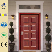 Zhejiang AFOL good quality solid wood front door, manufacturer price