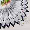 New Eco-friendly color customized swiss lace materials for making dress and clothing border