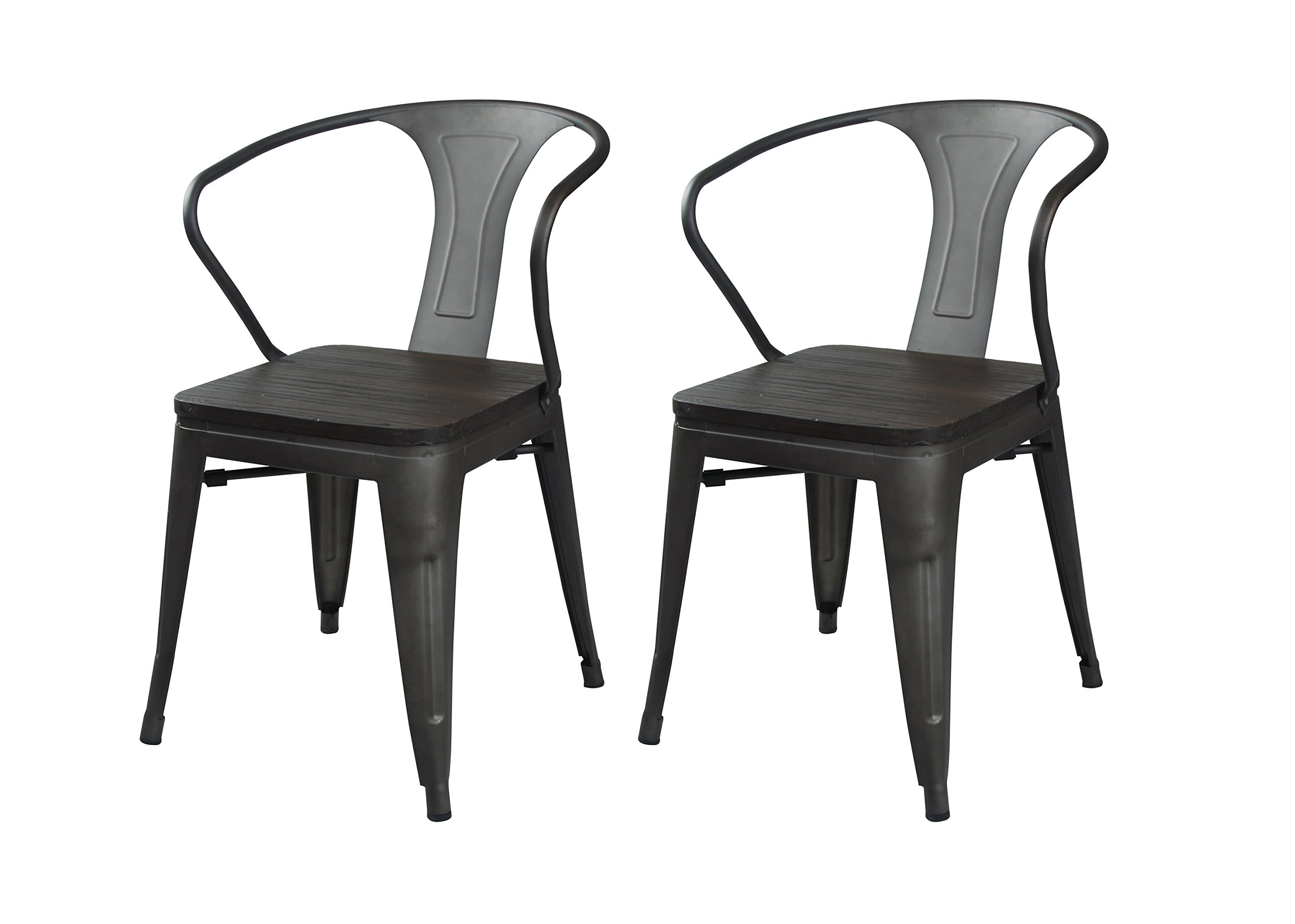 clear brushed stoolhighback elise tolix at zinzan metallic chairs back high bar products stool design classic chair
