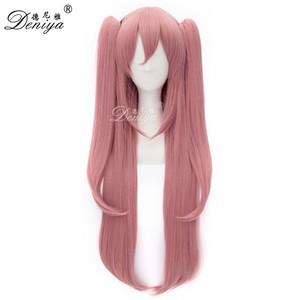 Ponytail Wig Pink 11dab2a2eb01