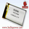 li polymer battery pack 22.2v lipo battery 3.7v 1100mah li-ion polymer battery 053759