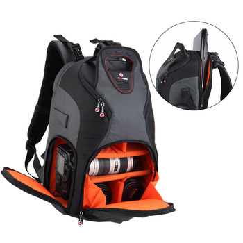 Professional Large Capacity Nylon Video Dslr Camera Bag Waterproof Travel Shoulder Bag Laptop Photography Backpack