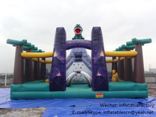 PK Outdoor bounce house manufacturer inflatable dinosaur jumper