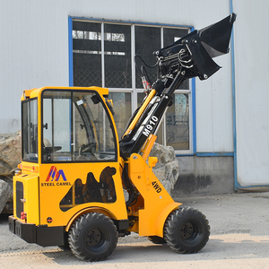 Newest height wheel high quality backhoe tractor small backhoe loader