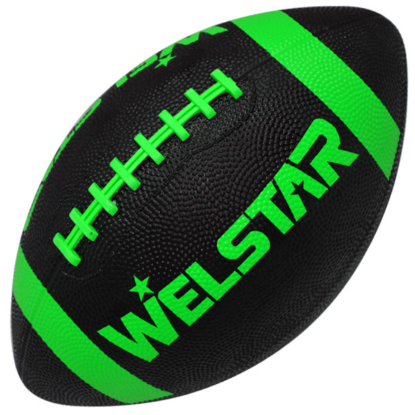 Official Size 9 Rubber American Football <strong>balls</strong> With Custom Design
