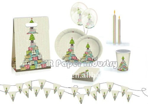 Different theme party set, party supply kits