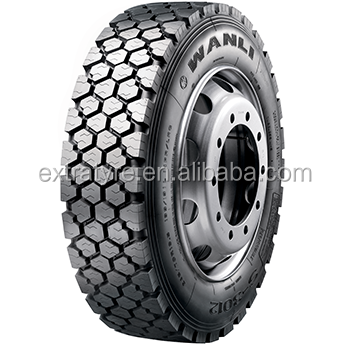 WANLI brand excellent driving performance radial truck tire SFR02 225/70R19.5 245/70R19.5