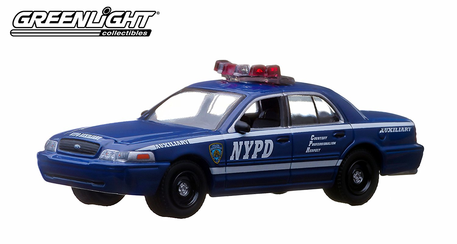 White Greenlight 2010 DODGE CHARGER NEW YORK POLICE NYPD HOT PURSUIT SERIES