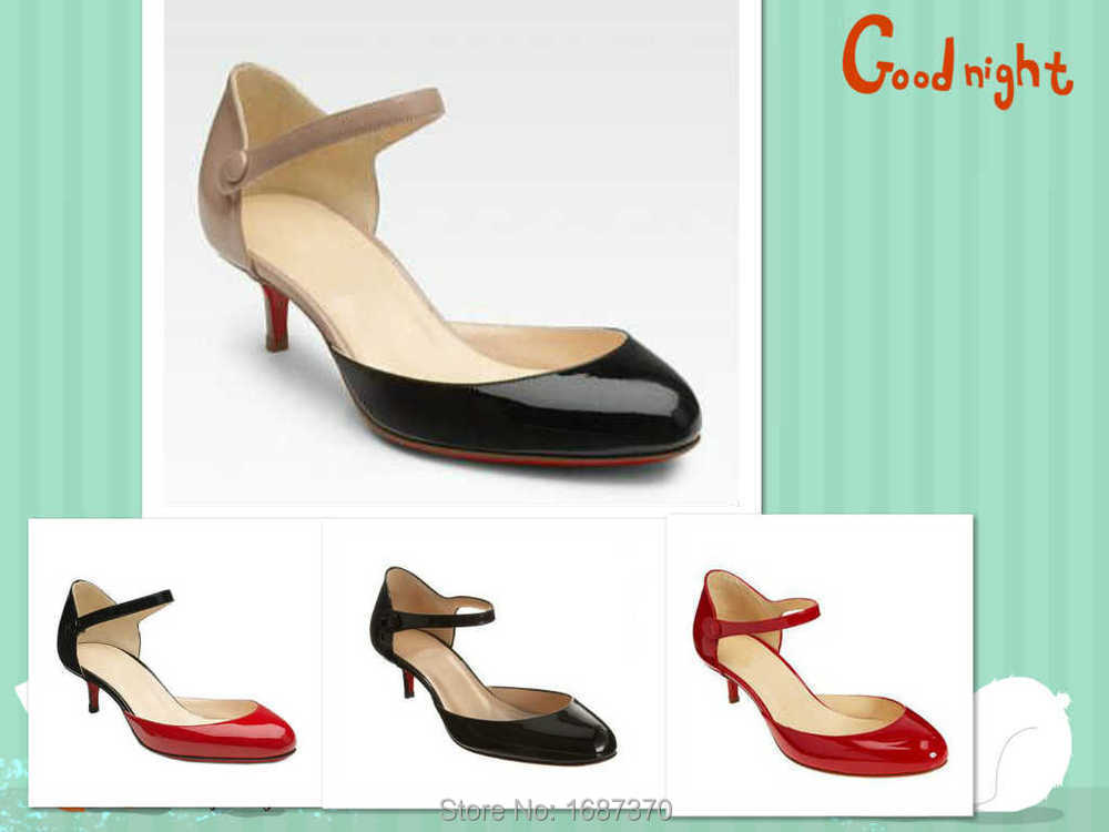 6b42fa102b6 Buy Luxury Brand 50mm d  39 orsay Mary jane Red bottom shoes