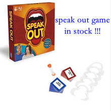 In stock!Speak Out Board Game Mouthpiece Family Interesting Party Game