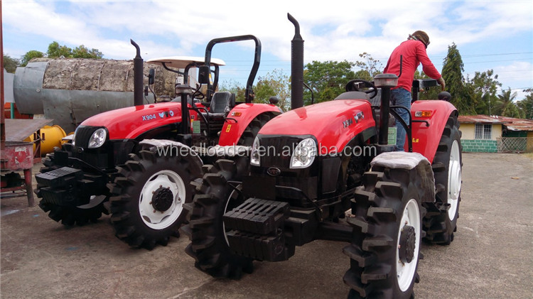 YTO mini Tractor 90hp farm tractor X904 for Agriculture