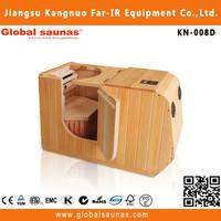 Far infrared home half body sauna bath price cheap KN-008D