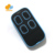 multi-frequency rolling code remote transmitter door opener