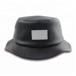 877d7bdc34f Leather Bucket Hat