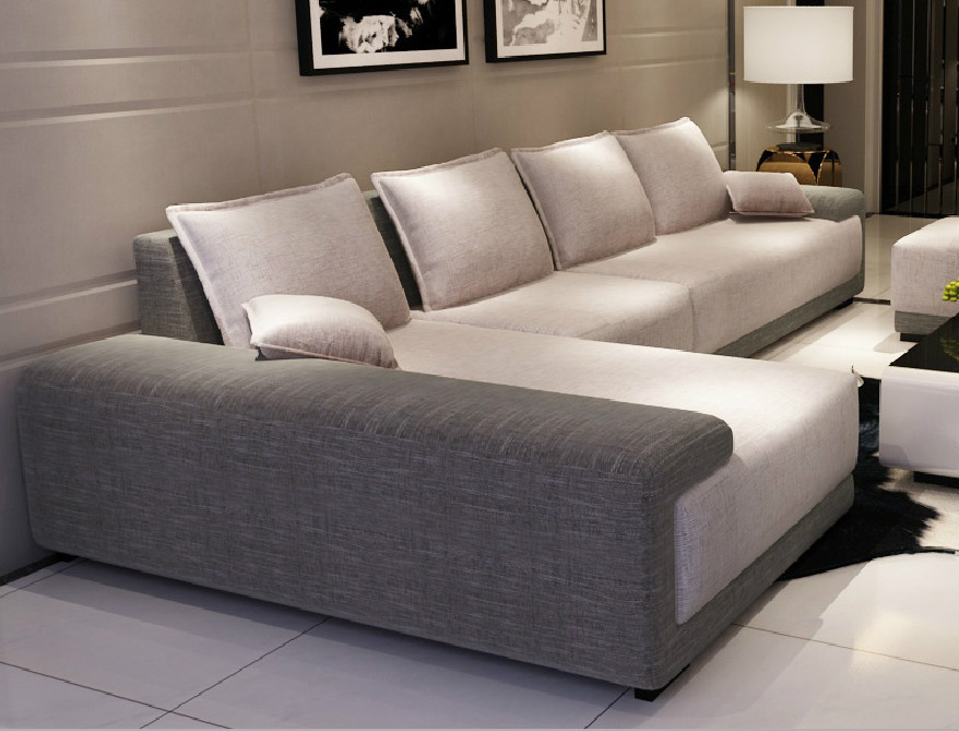 Modern Furniture L-shape Sofa Living Room Furniture Sofa ...