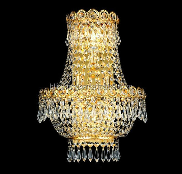 Traditional Golden Hotel Turkey Wall Sconce