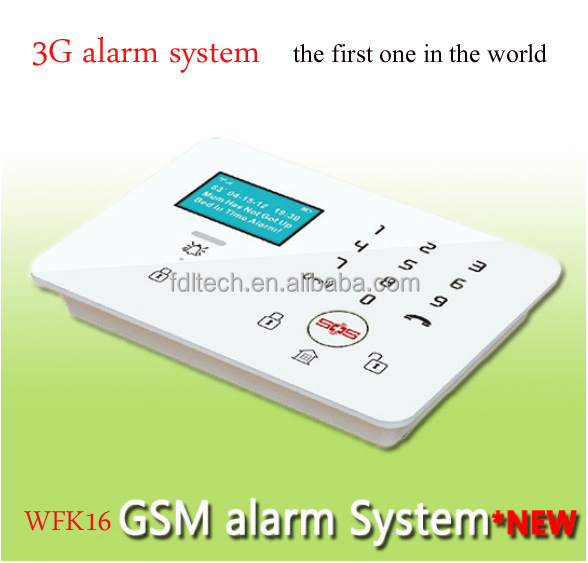 FDL-WFK16 3G wireless medical alert system ,3G alert fall detection Arm/Disarm notification SMS ,sos alarm for elderly
