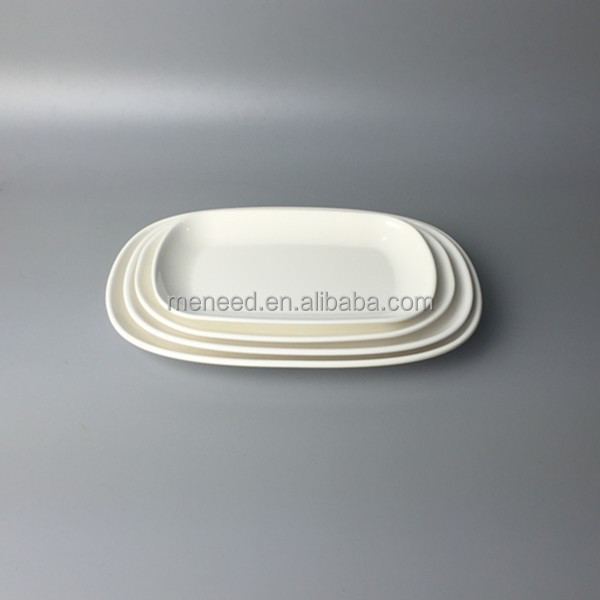 White hotel used oval clear plastic dinner plates, cheap clear plastic plates for food