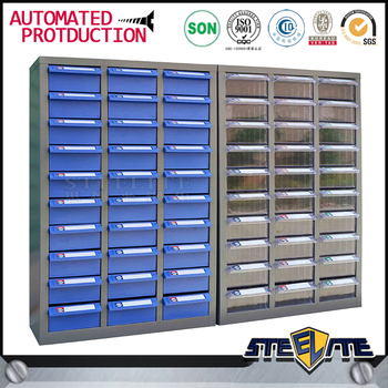 Industrial Furniture Plastic 30 Drawer Small Parts Storage Cabinet