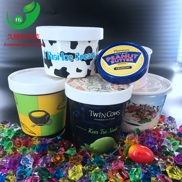 Disposable Custom ice cream cup, paper cup ,paper bowl