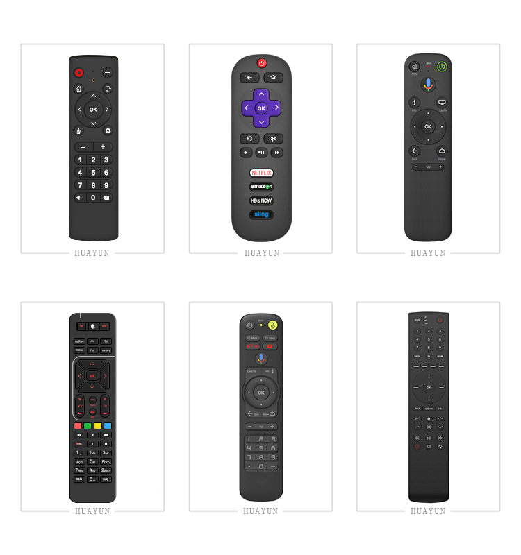 High quality custom TV Bluetooth remote control with 14 keys for android,compute,set top box,Bluetooth voice remote.jpg
