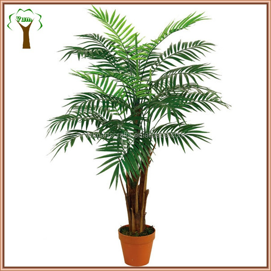 fake table mini palm tree for office decoration