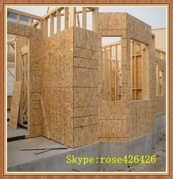 Cheap price OSB board for furniture or construction export to Russia